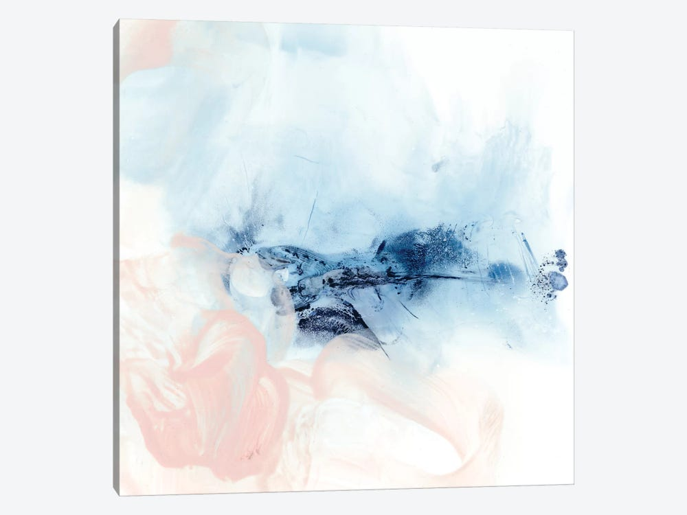Indigo & Blush I by Ethan Harper 1-piece Canvas Art Print