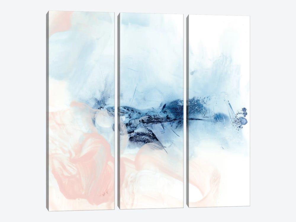 Indigo & Blush I by Ethan Harper 3-piece Canvas Art Print