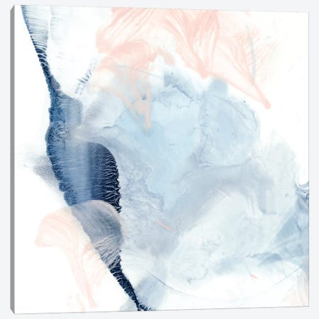 Indigo & Blush II Canvas Print #EHA536} by Ethan Harper Art Print