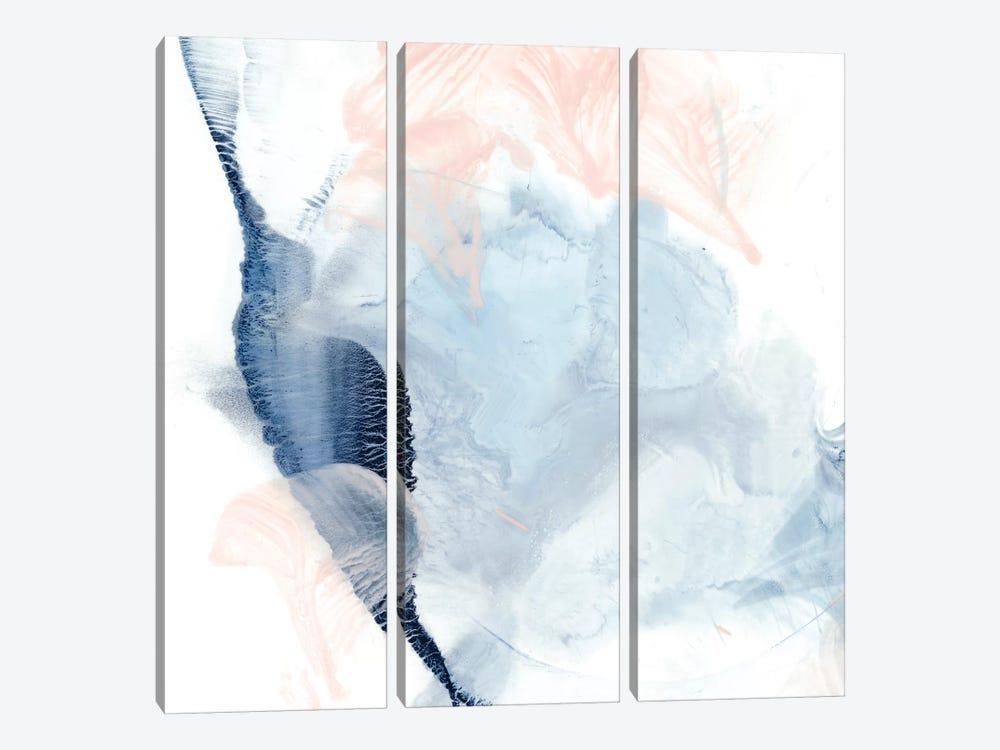 Indigo & Blush II by Ethan Harper 3-piece Canvas Art