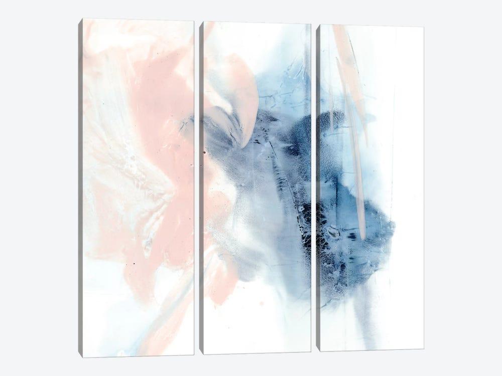 Indigo & Blush III by Ethan Harper 3-piece Canvas Art Print