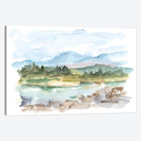 Mountain Watercolor III Canvas Print #EHA541} by Ethan Harper Canvas Print