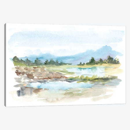 Mountain Watercolor IV Canvas Print #EHA542} by Ethan Harper Canvas Art Print