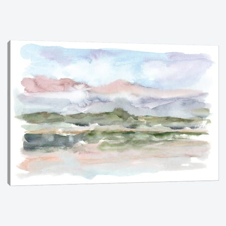 Mountain Watercolor V Canvas Print #EHA543} by Ethan Harper Canvas Art Print
