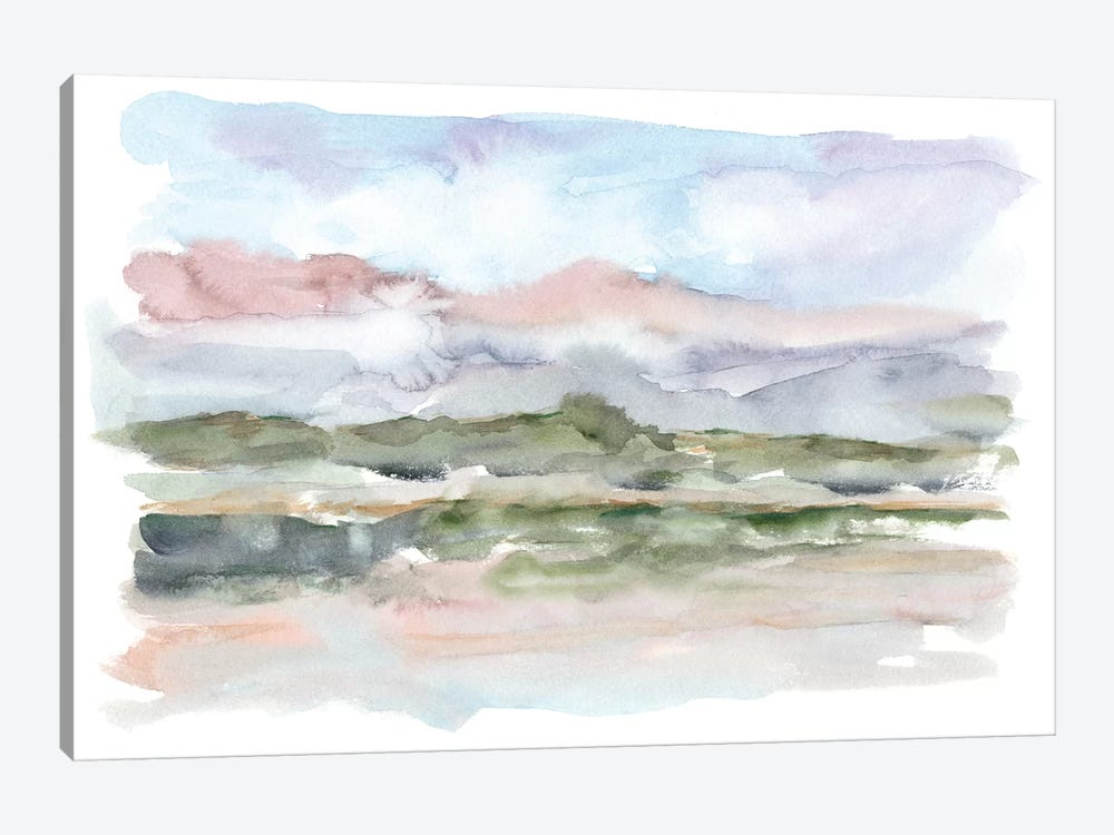 Mountain Watercolor V by Ethan Harper 1-piece Canvas Artwork