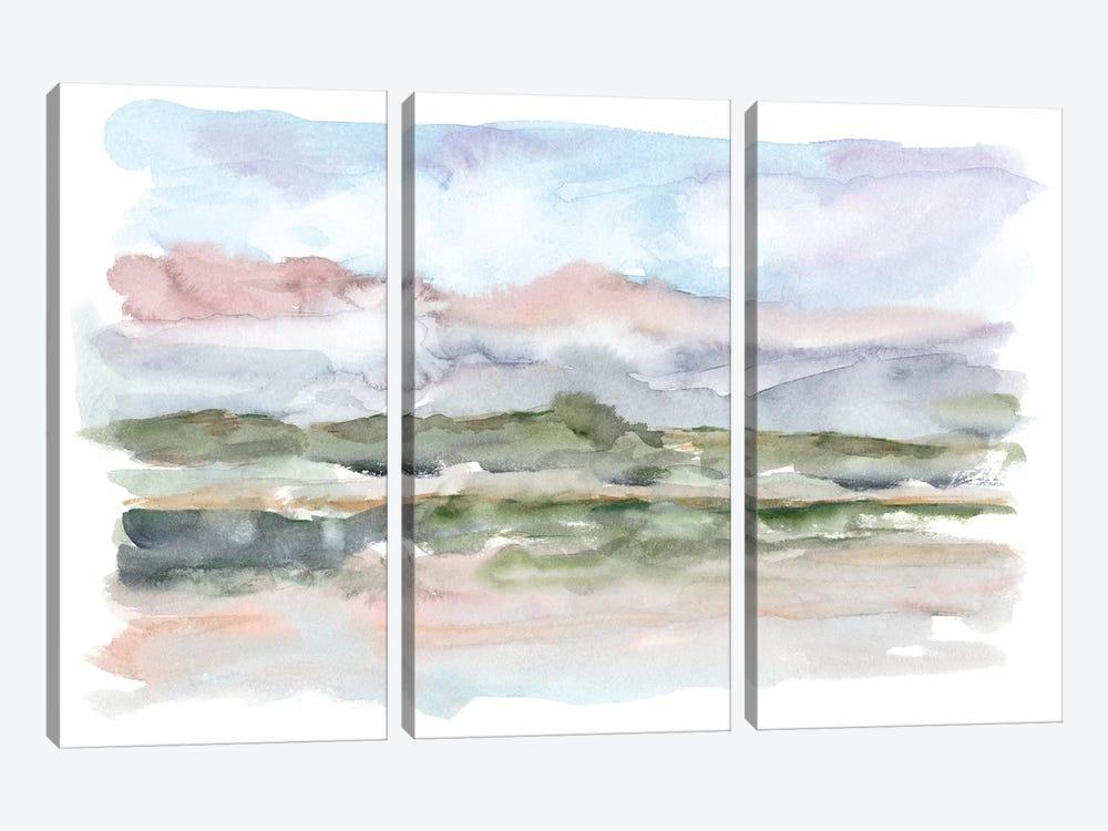 Mountain Watercolor V by Ethan Harper 3-piece Canvas Artwork