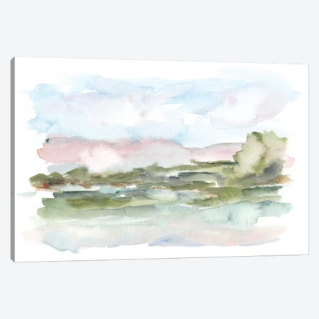 Mountain Watercolor VI Canvas Print #EHA544} by Ethan Harper Canvas Artwork