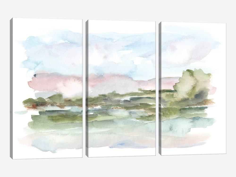 Mountain Watercolor VI by Ethan Harper 3-piece Canvas Art Print
