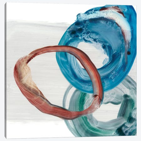 Overlapping Rings I 3-Piece Canvas #EHA545} by Ethan Harper Canvas Artwork