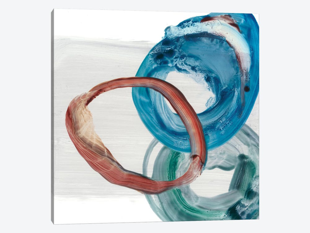 Overlapping Rings I by Ethan Harper 1-piece Canvas Art