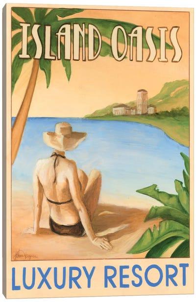 Island Oasis Canvas Art Print