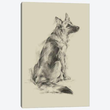 Puppy Dog Eyes V Canvas Print #EHA552} by Ethan Harper Canvas Artwork