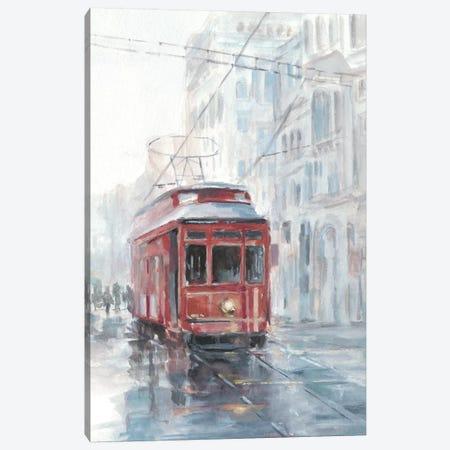 Watercolor Streetcar Study II Canvas Print #EHA567} by Ethan Harper Canvas Art