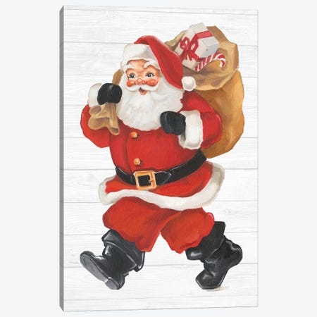 Nostalgic Santa II Canvas Print #EHA569} by Ethan Harper Canvas Art Print