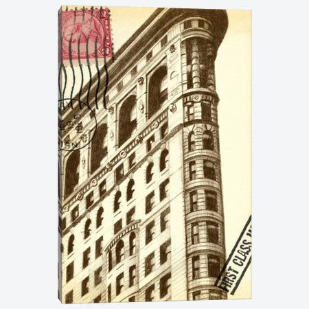 Letters To New York II Canvas Print #EHA56} by Ethan Harper Canvas Art Print