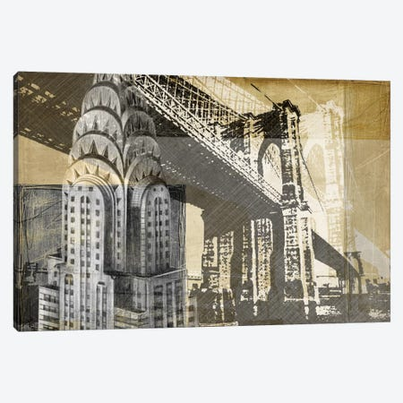 Metropolitan Collage I Canvas Print #EHA57} by Ethan Harper Canvas Art Print