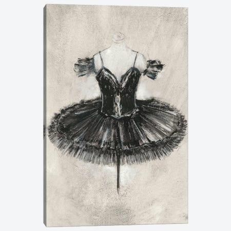 Black Ballet Dress II Canvas Print #EHA587} by Ethan Harper Canvas Wall Art