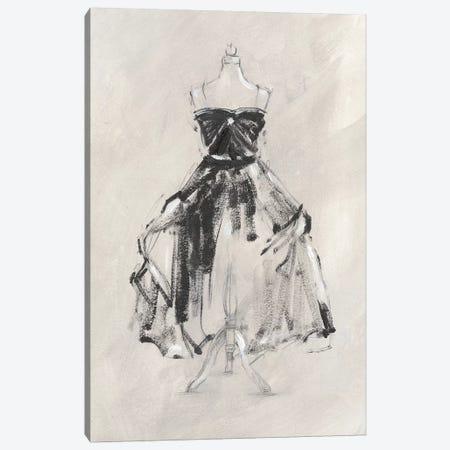 Black Evening Gown I Canvas Print #EHA588} by Ethan Harper Canvas Print