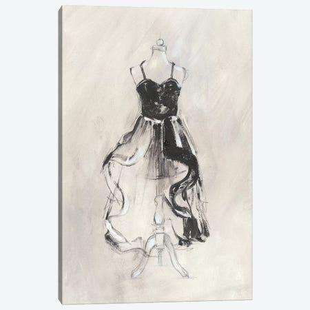 Black Evening Gown II Canvas Print #EHA589} by Ethan Harper Canvas Print