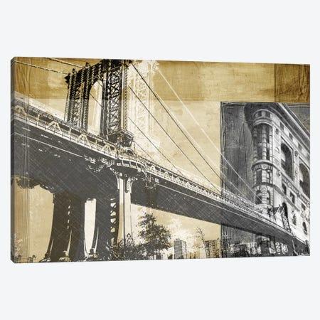 Metropolitan Collage II Canvas Print #EHA58} by Ethan Harper Canvas Artwork