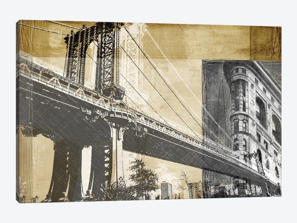 Metropolitan Collage II by Ethan Harper 1-piece Canvas Print