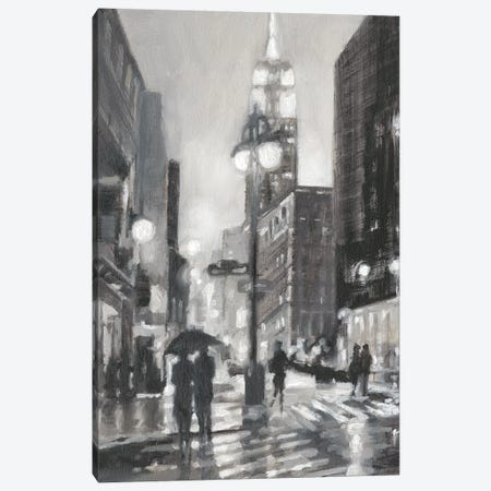 Illuminated Streets I Canvas Print #EHA598} by Ethan Harper Canvas Wall Art