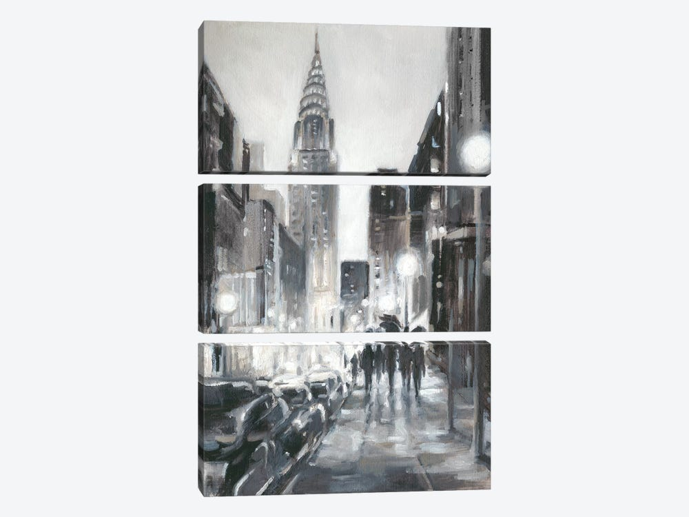 Illuminated Streets II by Ethan Harper 3-piece Art Print