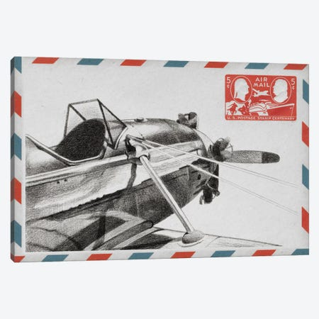 Aeronautic Collection I Canvas Print #EHA5} by Ethan Harper Art Print
