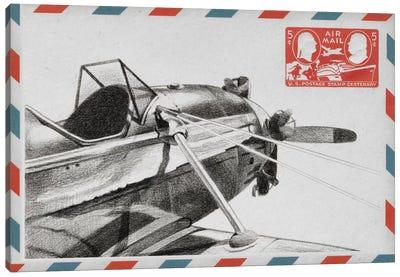 Aeronautic Collection I Canvas Art Print