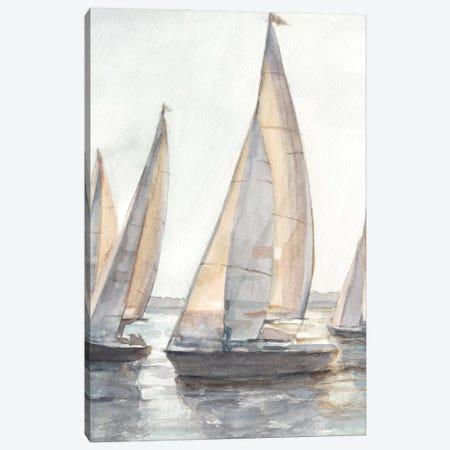 Plein Air Sailboats I Canvas Print #EHA600} by Ethan Harper Canvas Artwork