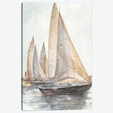 Plein Air Sailboats II Canvas Print #EHA601} by Ethan Harper Canvas Art