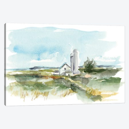Rural Plein Air I Canvas Print #EHA602} by Ethan Harper Canvas Wall Art
