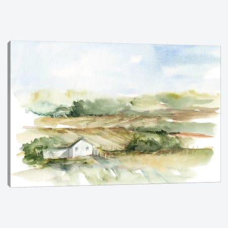 Rural Plein Air V Canvas Print #EHA606} by Ethan Harper Art Print