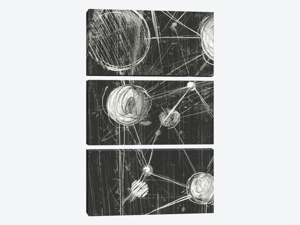 Molecular Fusion II by Ethan Harper 3-piece Canvas Wall Art