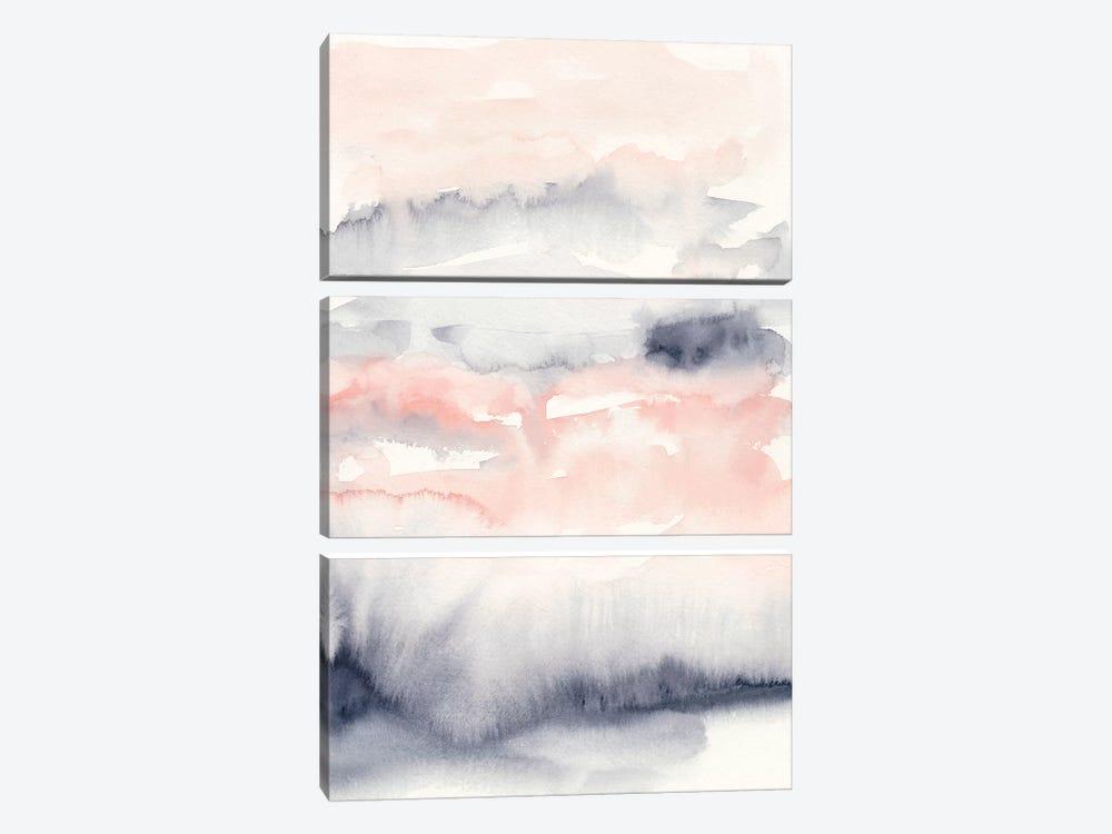 Violet & Blush I by Ethan Harper 3-piece Canvas Artwork