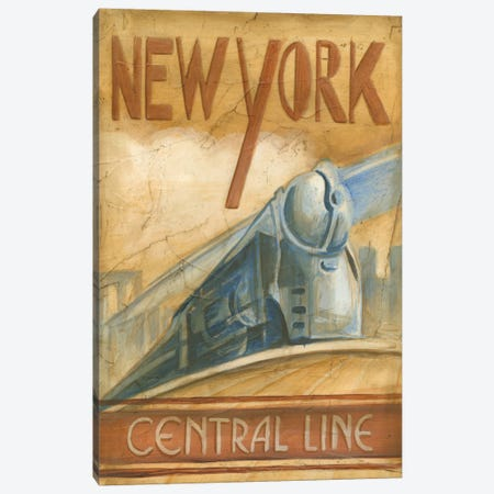 New York Central Line Canvas Print #EHA61} by Ethan Harper Canvas Print