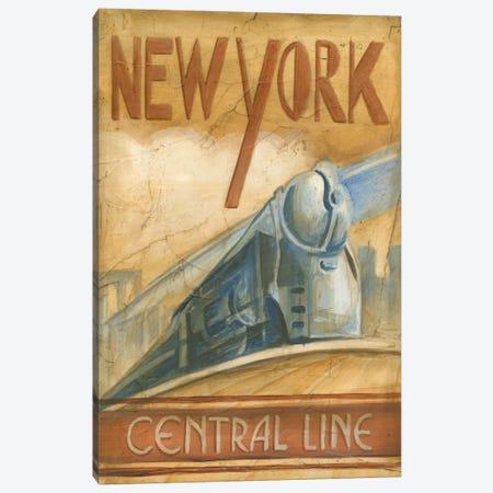 New York Central Line Canvas Print #EHA61} by Ethan Harper Canvas Print