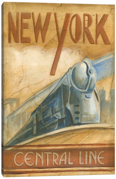 New York Central Line Canvas Art Print