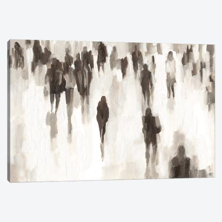 Commuters I Canvas Print #EHA626} by Ethan Harper Art Print