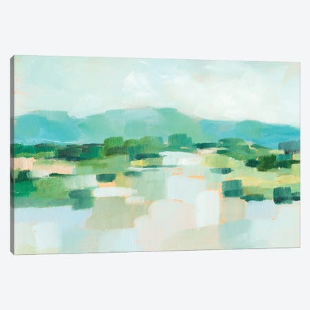 Emerald Island I Canvas Print #EHA628} by Ethan Harper Canvas Wall Art
