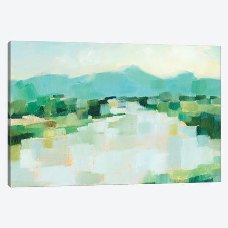 Emerald Island II Canvas Print #EHA629} by Ethan Harper Canvas Wall Art