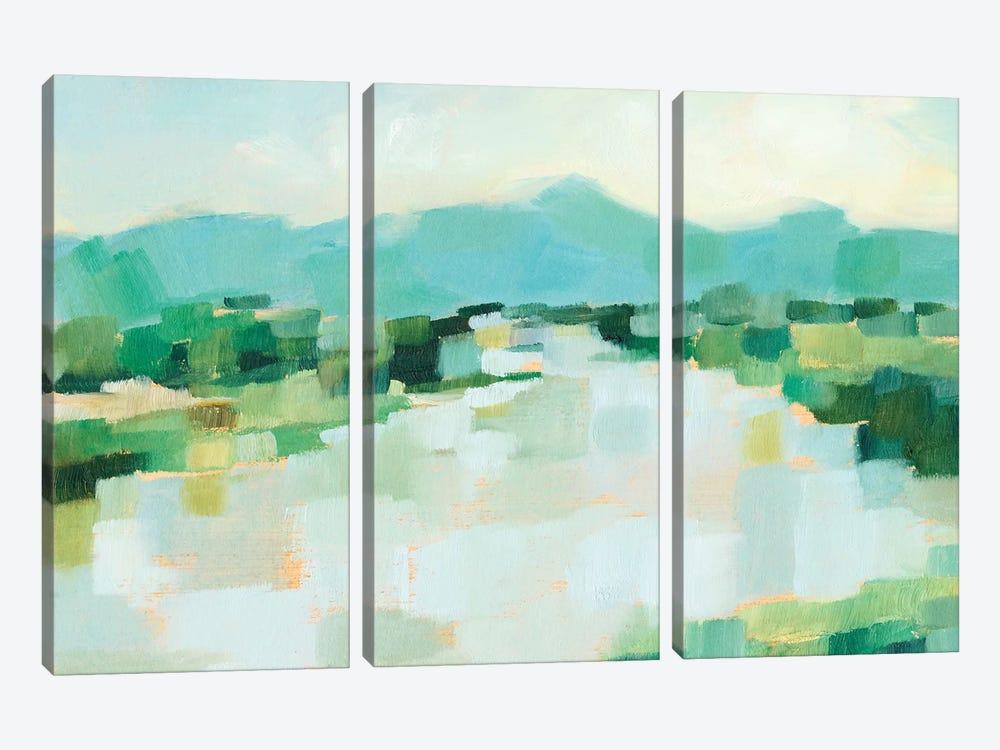 Emerald Island II by Ethan Harper 3-piece Canvas Art