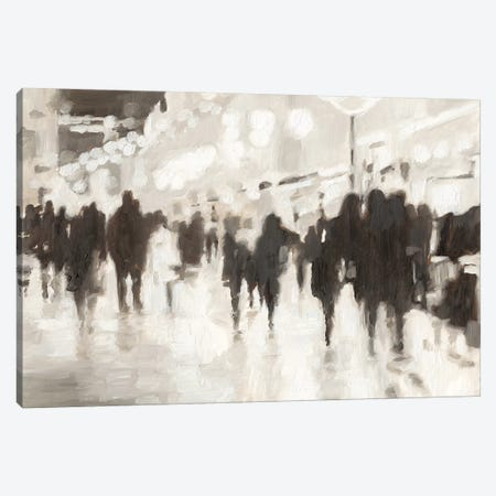 Nightlife Canvas Print #EHA637} by Ethan Harper Canvas Art