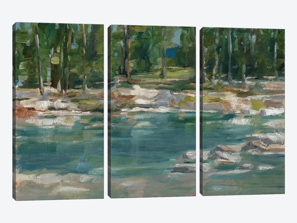 Northwestern Lake I by Ethan Harper 3-piece Canvas Artwork