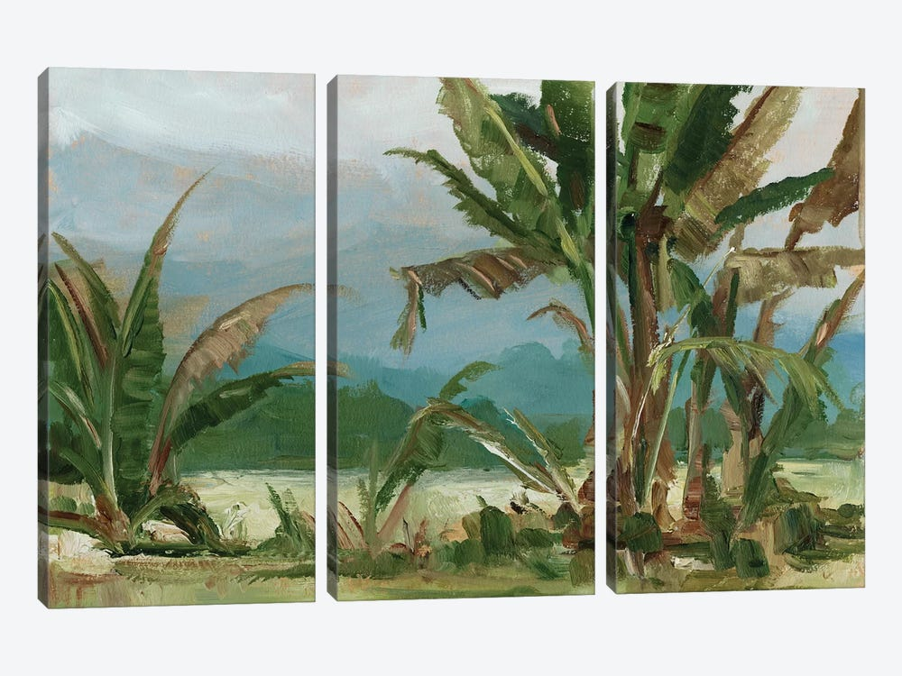Southern Palms II by Ethan Harper 3-piece Canvas Artwork
