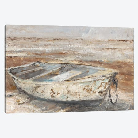 Weathered Rowboat I Canvas Print #EHA652} by Ethan Harper Canvas Art Print