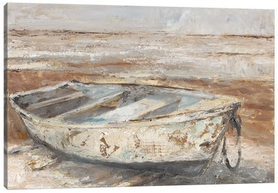 Weathered Rowboat I Canvas Art Print