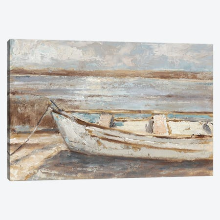Weathered Rowboat II Canvas Print #EHA653} by Ethan Harper Canvas Art Print