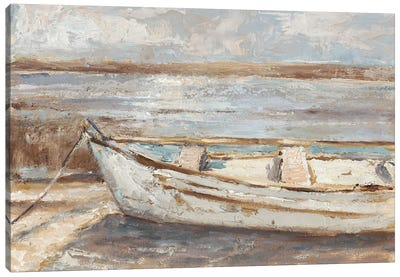 Weathered Rowboat II Canvas Art Print