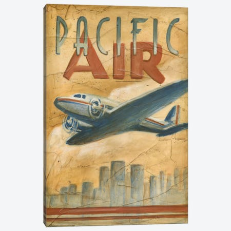 Pacific Air Canvas Print #EHA65} by Ethan Harper Canvas Art